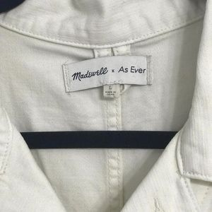 Madewell x As Ever Short Coveralls NWOT